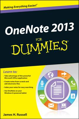OneNote 2013 For Dummies, Russell, James H.