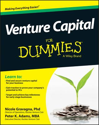 Image for Venture Capital For Dummies