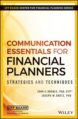Image for Communication Essentials for Financial Planners: Strategies and Techniques
