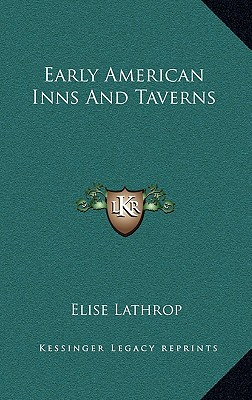 Image for Early American Inns and Taverns