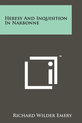 Image for Heresy And Inquisition In Narbonne