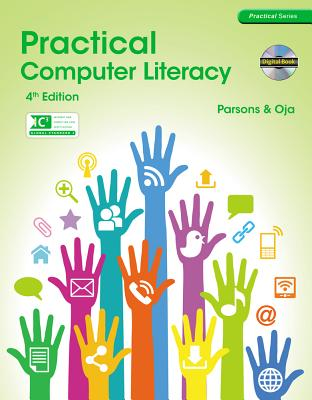 Practical Computer Literacy (with CD-ROM) (Practical Series), June Jamrich Parsons, Dan Oja