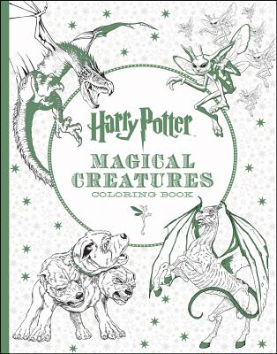 Image for Harry Potter Magical Creatures Coloring Book