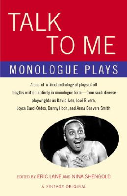 Image for Talk to Me: Monologue Plays