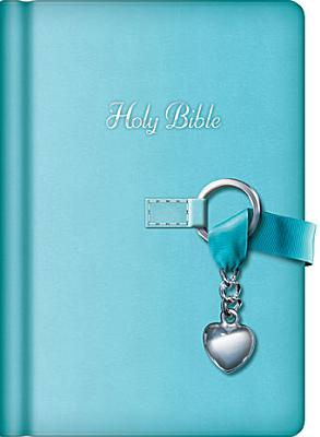 """Image for """"The Simply Charming Bible (NKJV, Turquoise Leathersoft, Silver Gilded Page Edges)"""""""