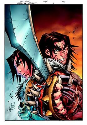World of Warcraft Vol. 2 HC, Simonson, Walter; Lullabi, Ludo [Illustrator]; Buran, Jon [Illustrator];