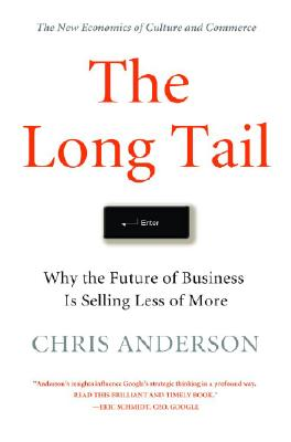Image for LONG TAIL, THE : WHY THE FUTURE OF BUSINESS IS SELLING LESS OF MORE