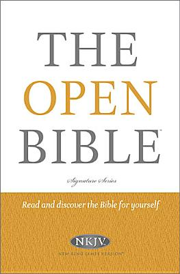 "Image for ""The Open Bible (NKJVStudy, 0452RP, Signature Series)"""