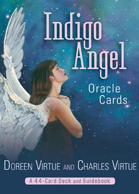 Image for Indigo Angel Oracle Cards: A 44-Card Deck and Guidebook