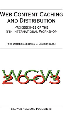 Image for Web Content Caching and Distribution: Proceedings of the 8th International Workshop (Ifip International Federation for Information Processing S)