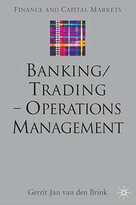Image for Banking/Trading - Operations Management (Finance and Capital Markets Series)