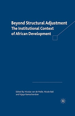 Image for Beyond Structural Adjustment: The Institutional Context of African Development
