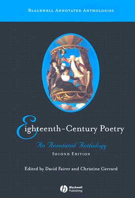 Image for Eighteenth-Century Poetry: An Annotated Anthology
