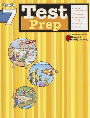 Image for Test Prep: Grade 7 (Flash Kids Harcourt Family Learning)