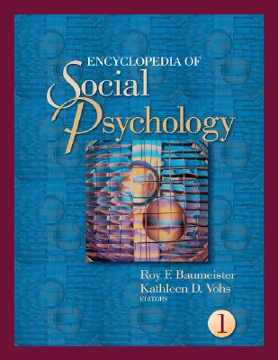 Encyclopedia of Social Psychology (2 Volume Set)