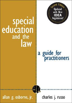 Image for Special Education and the Law: A Guide for Practitioners