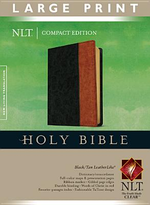 """Image for """"''Compact Edition Bible NLT, Large Print, TuTone''"""""""