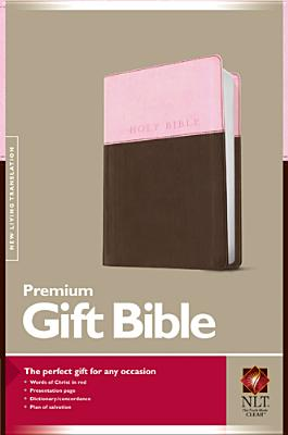 Image for NLT Premium Gift and Award Pink/Dark Brown