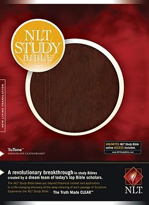 Image for NLT Study Bible, TuTone