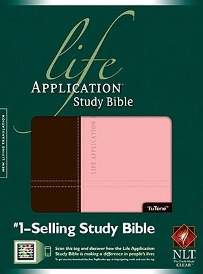 "Image for ""Life Application Study Bible NLT, TuTone Imitation Leather"""