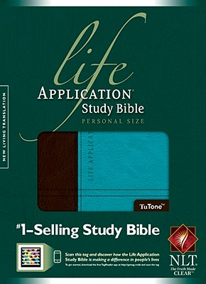 "Image for ""''Life Application Study Bible NLT, Personal Size, TuTone''"""