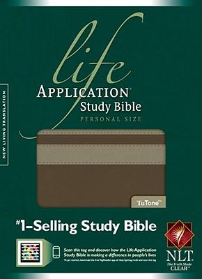 Life Application Study Bible NLT, Personal Size, TuTone