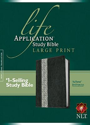 "Image for ""Life Application Study Bible NLT, Large Print, Floral TuTone Imitation Leather"""