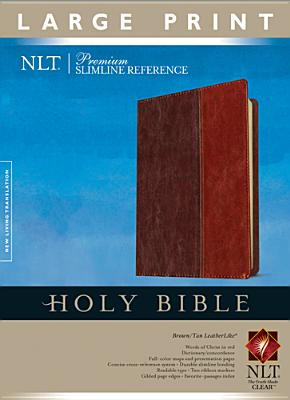 "Image for ""''Premium Slim Ref Bible LP, LLik BRNTAN NLT IDX ''"""