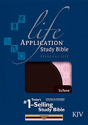 Image for Life Application Study Bible KJV, Personal Size TuTone