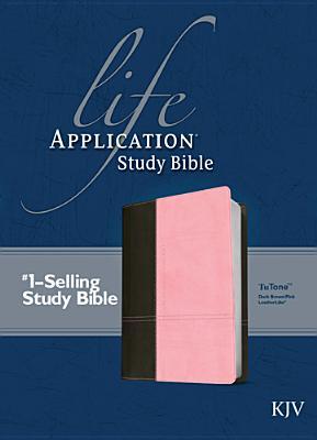 Image for Life Application Study Bible KJV, TuTone (Dk Brown/Pink)