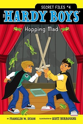 Image for Hopping Mad (4) (Hardy Boys: The Secret Files)