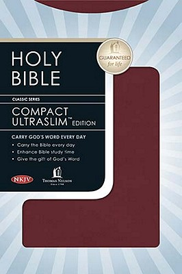 Compact UltraSlim Bible, NKJV Edition, Thomas Nelson