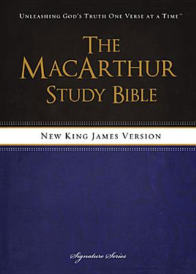 "Image for ""The MacArthur Study Bible, NKJV: Revised & Updated Edition"""