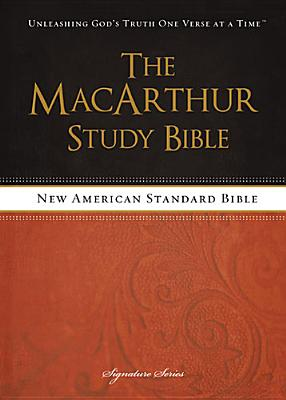 Image for The MacArthur Study Bible, NASB (Signature)