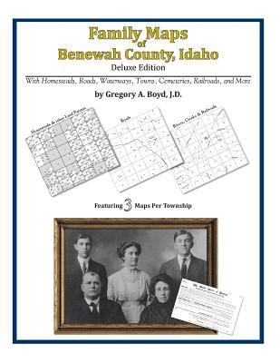 Family Maps of Benewah County, Idaho, Boyd J.D., Gregory A.