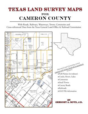Texas Land Survey Maps for Cameron County, Boyd J.D., Gregory A