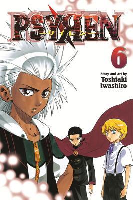Psyren, Vol. 6, Iwashiro, Toshiaki