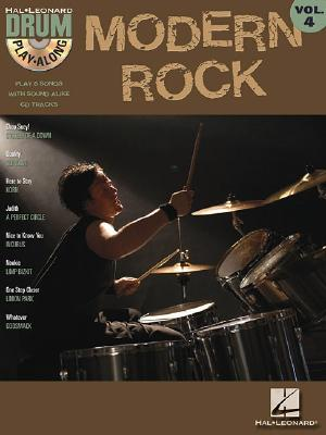 Image for Modern Rock: Drum Play-Along Volume 4 (Hal Leonard Drum Paly Along)