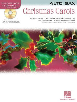 Image for Christmas Carols Alto Sax BK/CD (Hal Leonard Instrumental Play-Along)