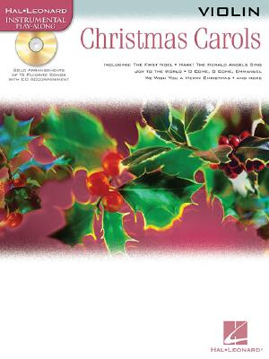 Image for Christmas Carols Violin BK/CD