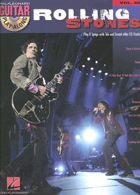 Image for THE ROLLING STONES           VOLUME 66 BK/CD (Hal Leonard Guitar Play-Along)