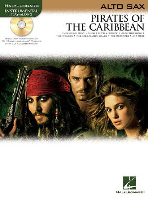 Image for PIrates of the Caribbean for Alto Sax Book & Online Audio (Instrumental Play-Along)