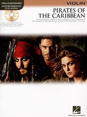 Image for PIRATES OF THE CARIBBEAN FOR VIOLIN INSTRUMENTAL PLAY-    ALONG BK/CD (Hal Leonard Instrumental Play-Along)
