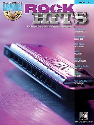 Image for Rock Hits Harmonica Play-Along Vol. 2  BK/CD (Hal-Leonard Harmonica Play-Along)