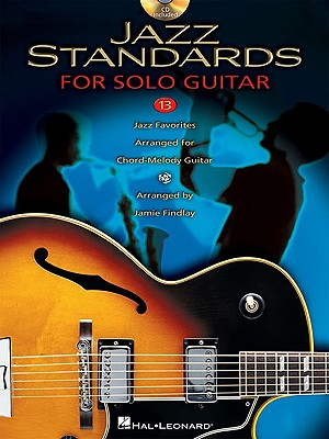 Image for Jazz Standards For Solo Jazz Guitar BK/Online Audio