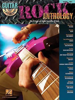 Image for Rock Anthology: Guitar Play-Along Volume 81 (Hal Leonard Guitar Play-Along)