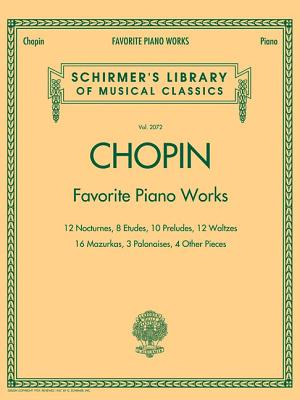 Image for Favorite Piano Works: Schirmer's Library of Musical Classics Volume 2072