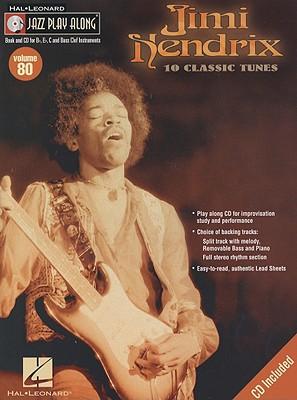 Image for Jimi Hendrix (Hal Leonard Jazz Play-Along, Vol.80)