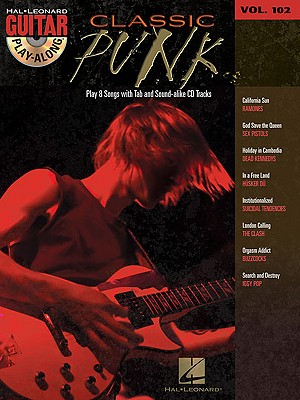 Image for Classic Punk: Guitar Play-Along Volume 102