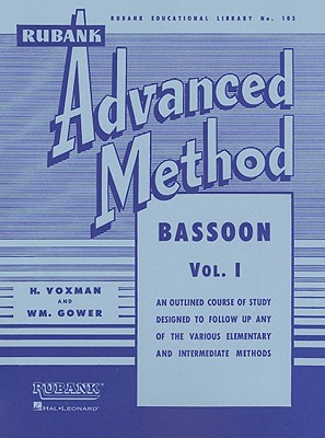 Image for Rubank Advanced Method - Bassoon Vol. 1 (Rubank Educational Library)